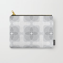 Flower pattern - Overcast Carry-All Pouch