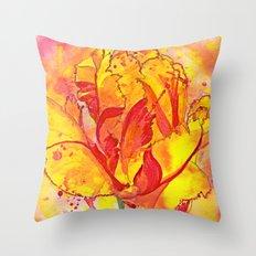 Beltane fire Throw Pillow