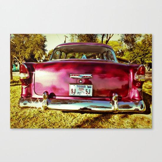 texas wedding Canvas Print