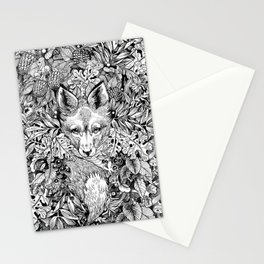 hidden fox Stationery Cards
