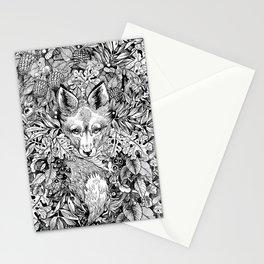 hidden fox Stationery Cards