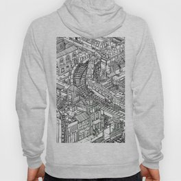 The Town of Train 2 Hoody