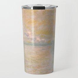 "Claude Monet ""Charing Cross Bridge"" (II) Travel Mug"