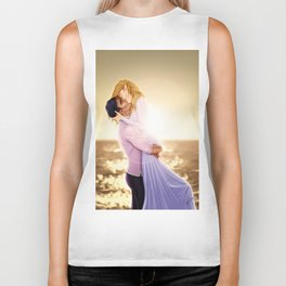 Feyre and Rhysand - A Romantic Sunset Biker Tank