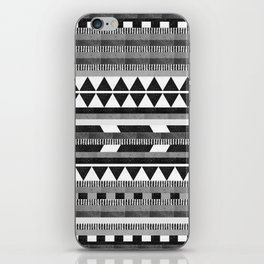 DG Aztec No.1 Monotone iPhone Skin