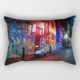 Evening in Hosier Lane Rectangular Pillow