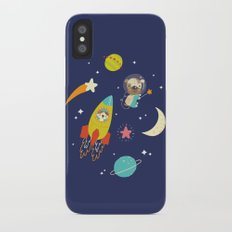 Space Critters iPhone X Slim Case