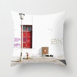 MYKONOS 03 Throw Pillow