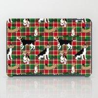 hunting iPad Cases featuring Hunting Tartan by Vannina