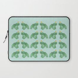 the Frog Prince Laptop Sleeve