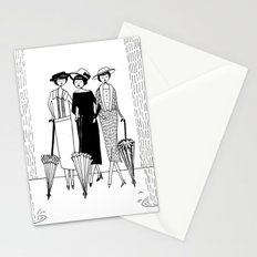 when it rains it pours Stationery Cards