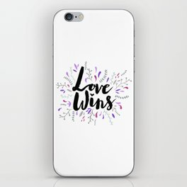 Love Wins iPhone Skin