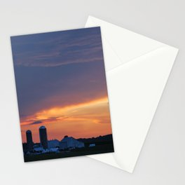Lancaster County, PA Sunset Stationery Cards