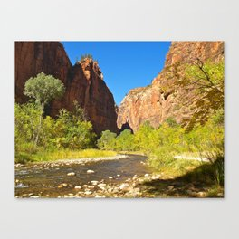 Out of the Narrows Canvas Print