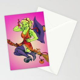 Hallowitch Stationery Cards