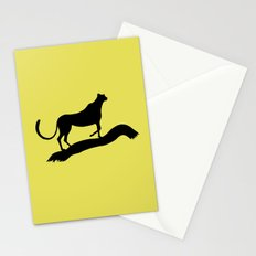 Cheetah Grace Stationery Cards
