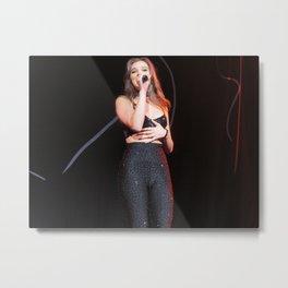 Hailee S live at Radio City Metal Print