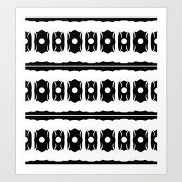 elephant shadows Art Print