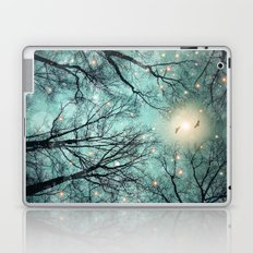 Nature Blazes Before Your Eyes (Mint Embers) Laptop & iPad Skin