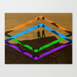 Chevrons Canvas Print
