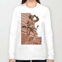 battlefield Long Sleeve T-shirts featuring Battlefield by Photaugraffiti