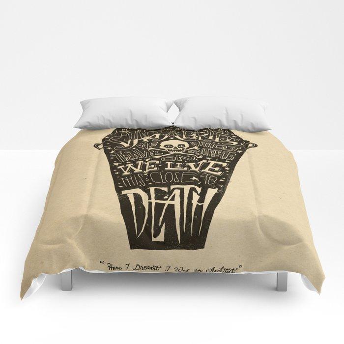 Lyrics & Type Comforters
