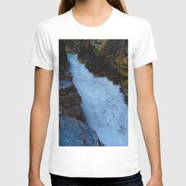Waterfall along Beauty Creek in Jasper National Park, Canada T-shirt