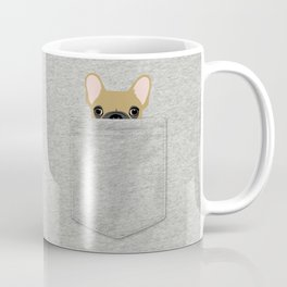 Pocket French Bulldog - Fawn Coffee Mug