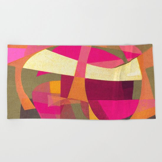 Confusion in Paradise Beach Towel