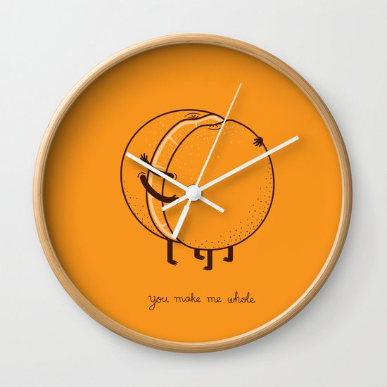 My better half Wall Clock