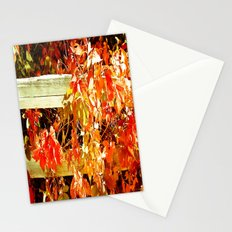 On The Fence About Fall Stationery Cards