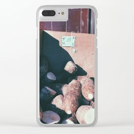 taro Clear iPhone Case