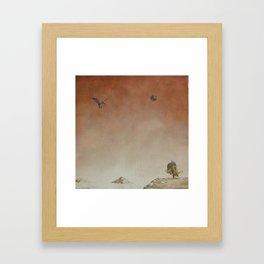 escaping Framed Art Print