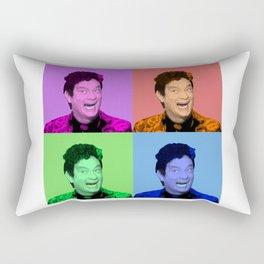 David S. Pumpkins - Any Questions? - Pop Art Rectangular Pillow
