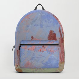 Standing Stone Circle in Pastels Backpack