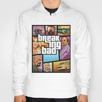 gta Hoodies featuring Breaking Bad: GTA  by Messypandas