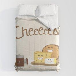 cheeeese Comforters