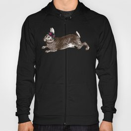 The Rabbit and Roses Hoody