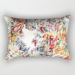 The World is a Lovely Place and I am Afraid to Die Rectangular Pillow