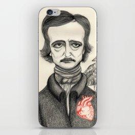 Allan Poe iPhone Skin