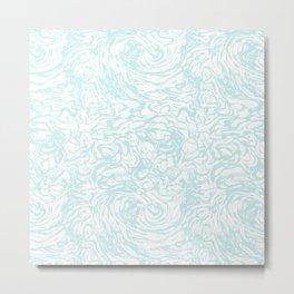 BLUE HUFF Metal Print