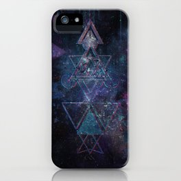 Hipsta Triangle iPhone Case