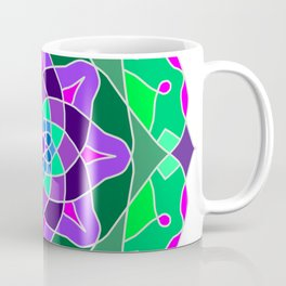 Mandala in nostalgic colors Coffee Mug