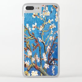 Van Gogh Branches of an Almond Tree in Blossom Clear iPhone Case