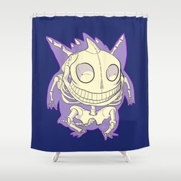 Pocket Man Anatomy #94 Gengar Shower Curtain