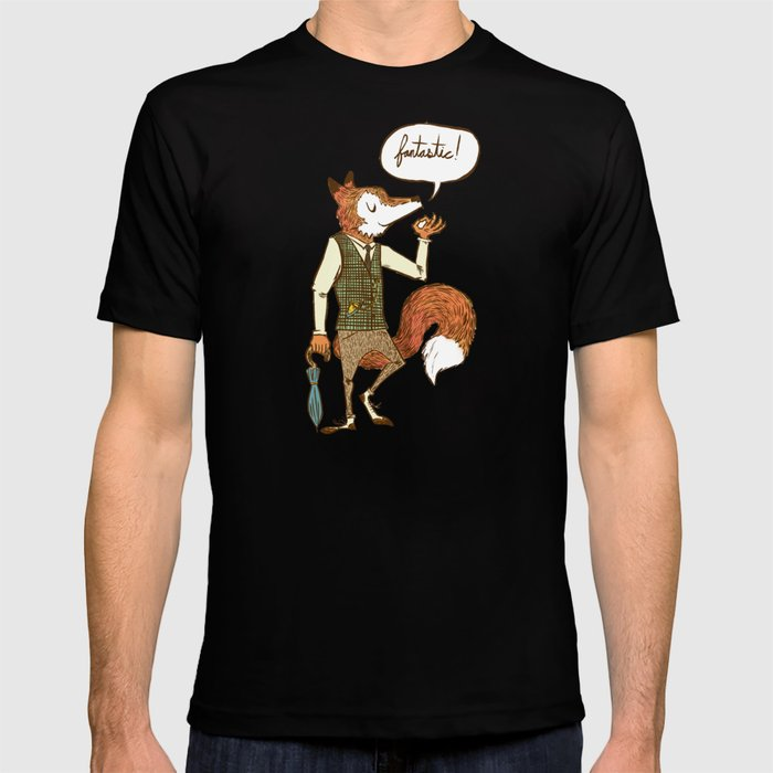 Mr  Fox T-shirt