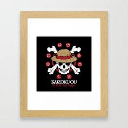 Mugiwara Kaizoku Framed Art Print