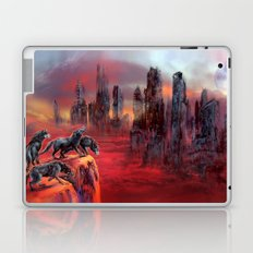 Wolves of Future Past landscape Laptop & iPad Skin