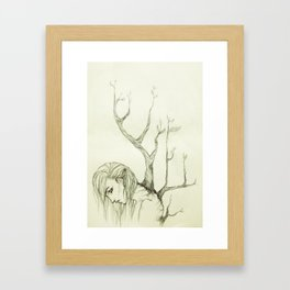 The Burden of Growth Framed Art Print