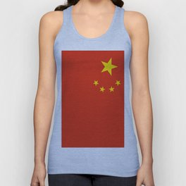Flag of China Unisex Tank Top